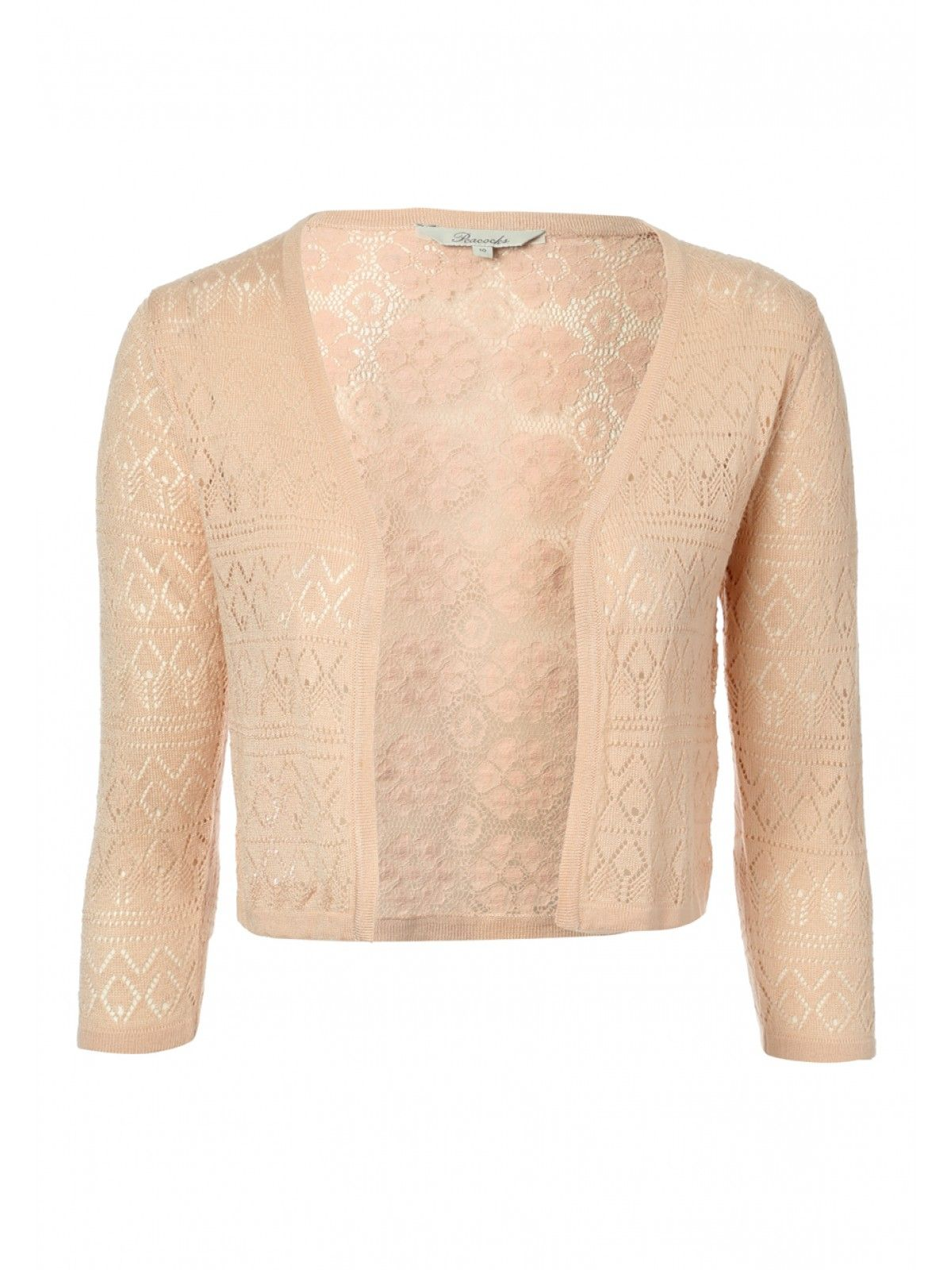 Womens Pointelle Lace Back Cardigan | Peacocks | Cardigans For Men ...