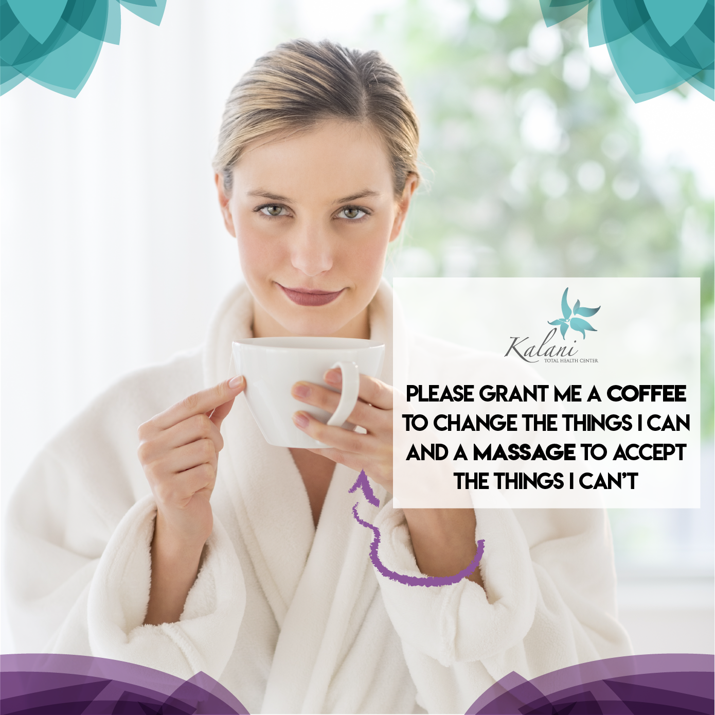 Sometimes All We Need Is A Coffee And A Good Massage To Help You Finish Your Week Like A Champ Chiropractic Kalanitotal Massage Therapy Good Massage Massage