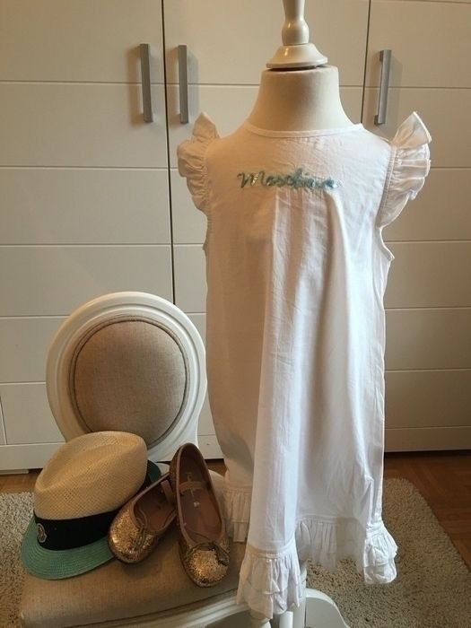 Mein Orig. Moschino Kleid Gr.6 Jahre / 116 cm von Moschino! Größe 116 für 35,00 €. Schau´s dir an: http://www.mamikreisel.de/kleidung-fur-madchen/lange-kleider/29505236-orig-moschino-kleid-gr6-jahre-116-cm.