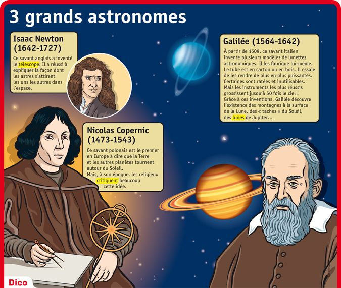 les grands astronomes