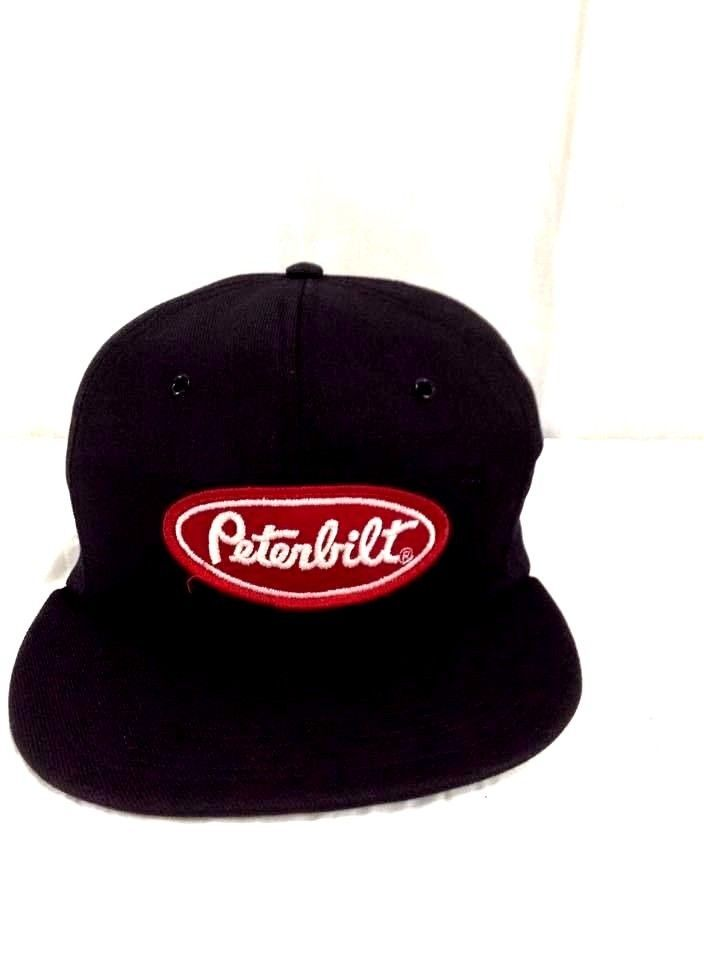 Peterbilt Trucks Hat Classic Black Trucking Snapback Cap  tonkininc   BaseballCap Peterbilt Trucks 51d26ca0cfa