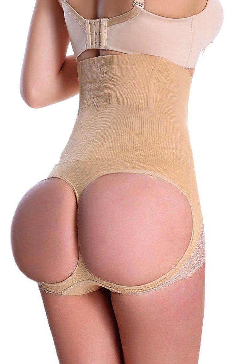 f132c6d4c0ed Womens Firm Control Shapewear Butt Lifter Seamless Shaping Hi-Waist  Boyshorts Tummy Waist Trainer Cincher Body Shaper#Butt, #Lifter, #Seamless