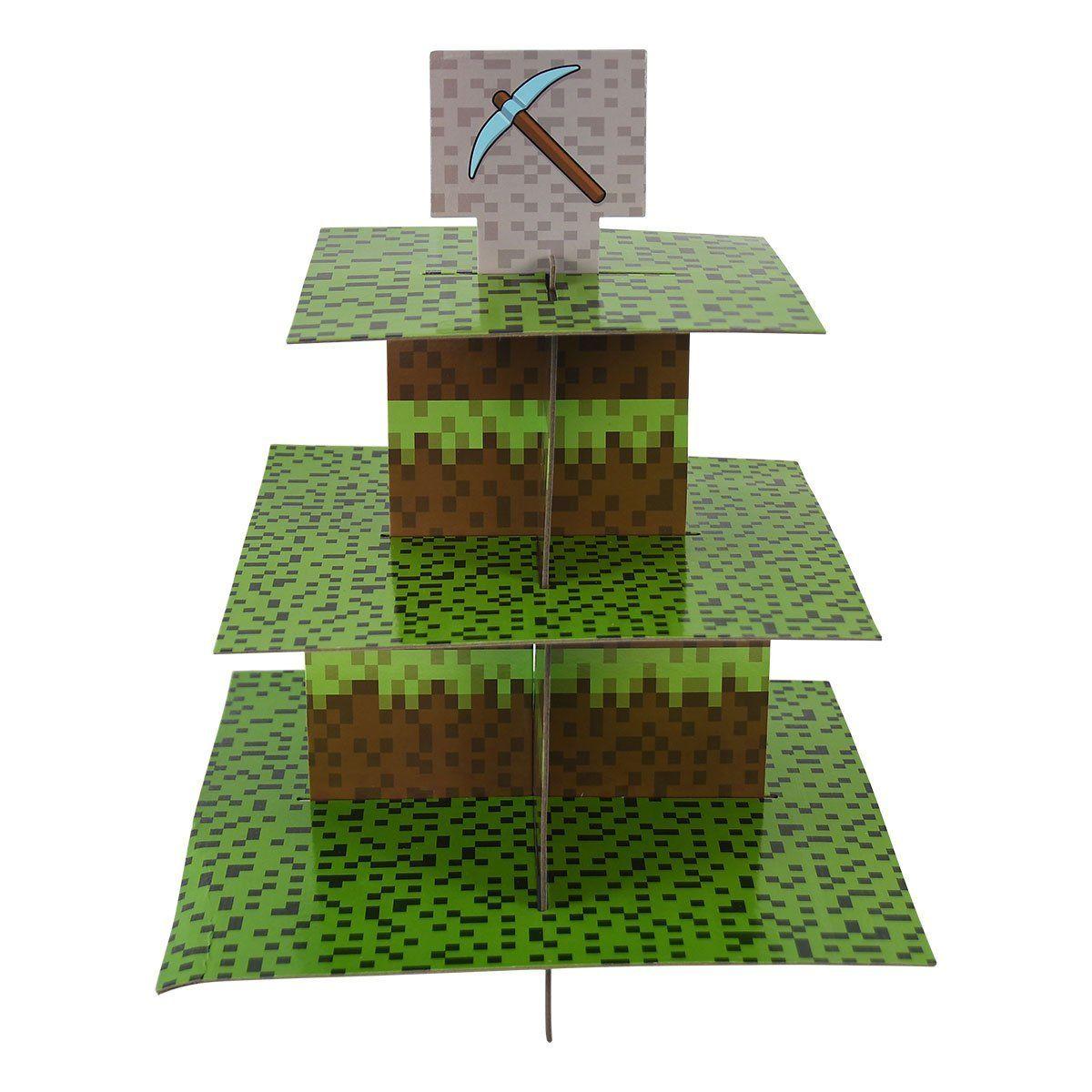 #Mining #Fun #Cupcake #Stand & #Pick #Kit, #Pixel