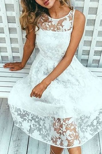 501ade749c1d MAD TEA PARTY DRESS IN WHITE | Dresses | Dresses, Outfits, White dress