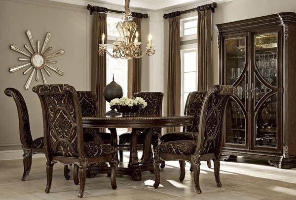 ART Furniture - Gables 8 Piece Round Dining Room Set - 245225-1707