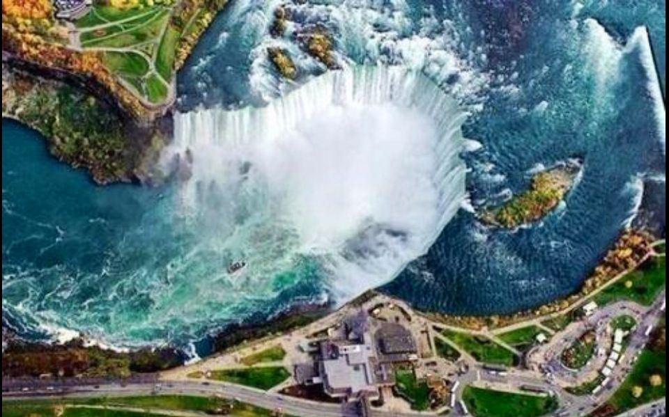 Niagra Falls from above