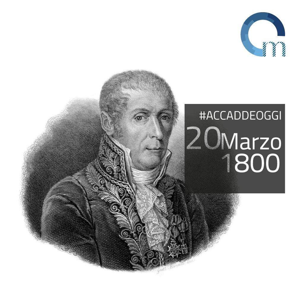 Alessandro Volta inventa la pila