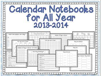 Interactive Calendar 2022.Interactive Calendar Notebooks For Kindergarten And First Grade 2021 2022 School Calendar Calendar Math Calendar Notebook