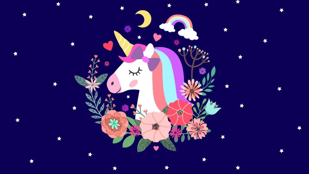 Cute Unicorn Wallpaper For Laptop Hd Tokojualmainan Unicorn Wallpaper Cartoon Wallpaper Cute Unicorn