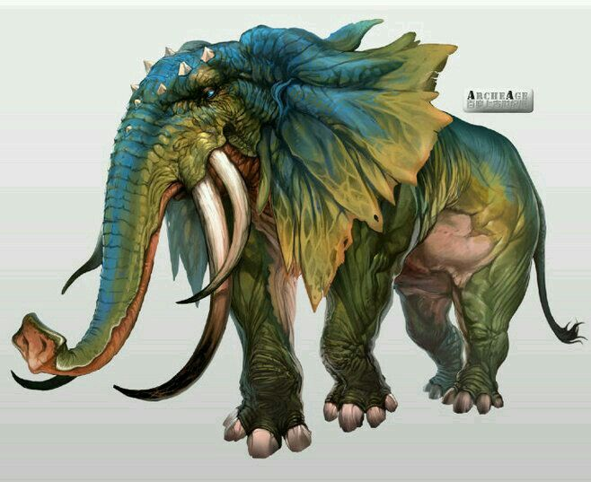 Amphibian elephant
