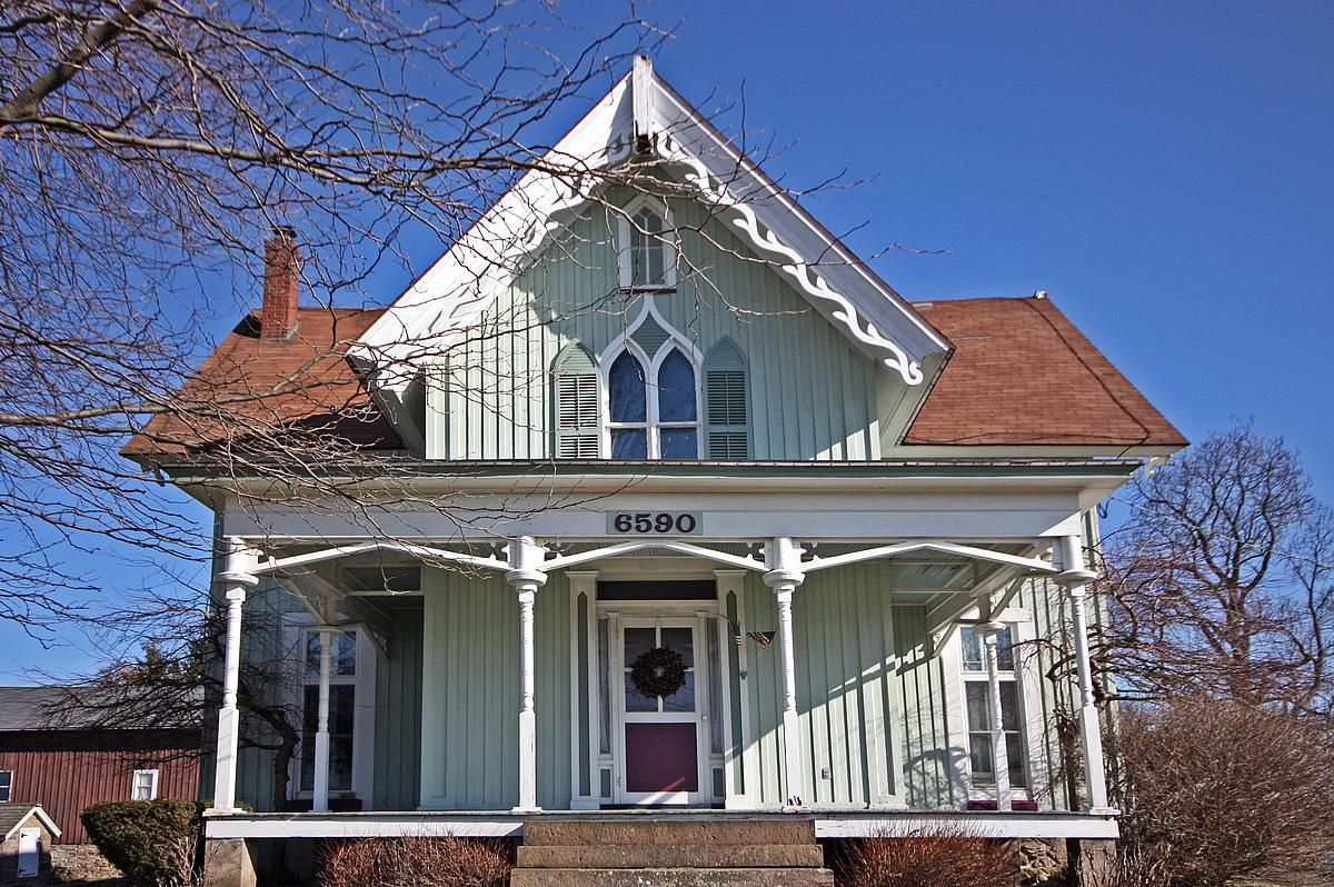 1000 Images About Carpenter Gothic On Pinterest Gothic House Gothic House House Historic Homes