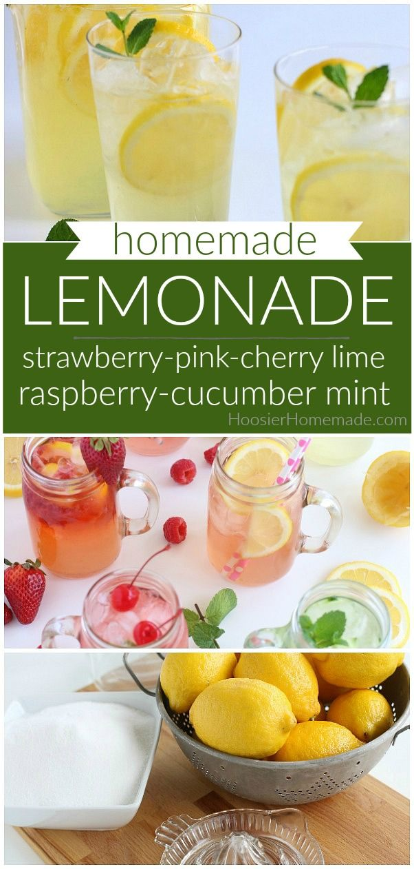 Lemonade Recipe #flavoredlemonade