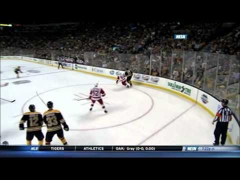 Torey Krug's 1st NHL regular season goal 10/5/13 #Bruins #Krug