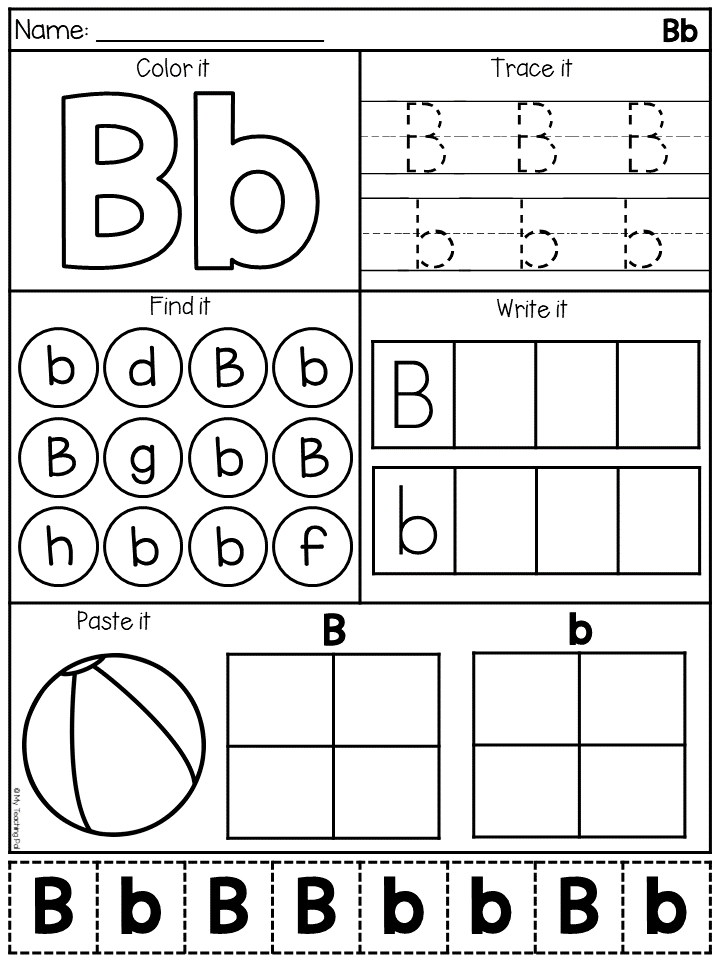 Alphabet Worksheets Letter Work Distance Learning Alphabet Worksheets Preschool Alphabet Worksheets Kindergarten Letter Worksheets For Preschool