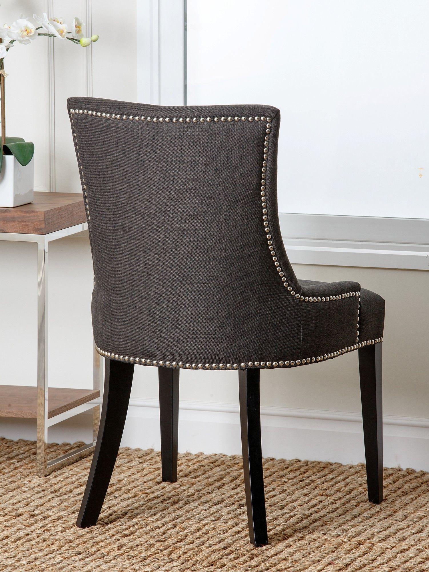 Abbyson Living Hudson Nailhead Dining Chair Wayfair