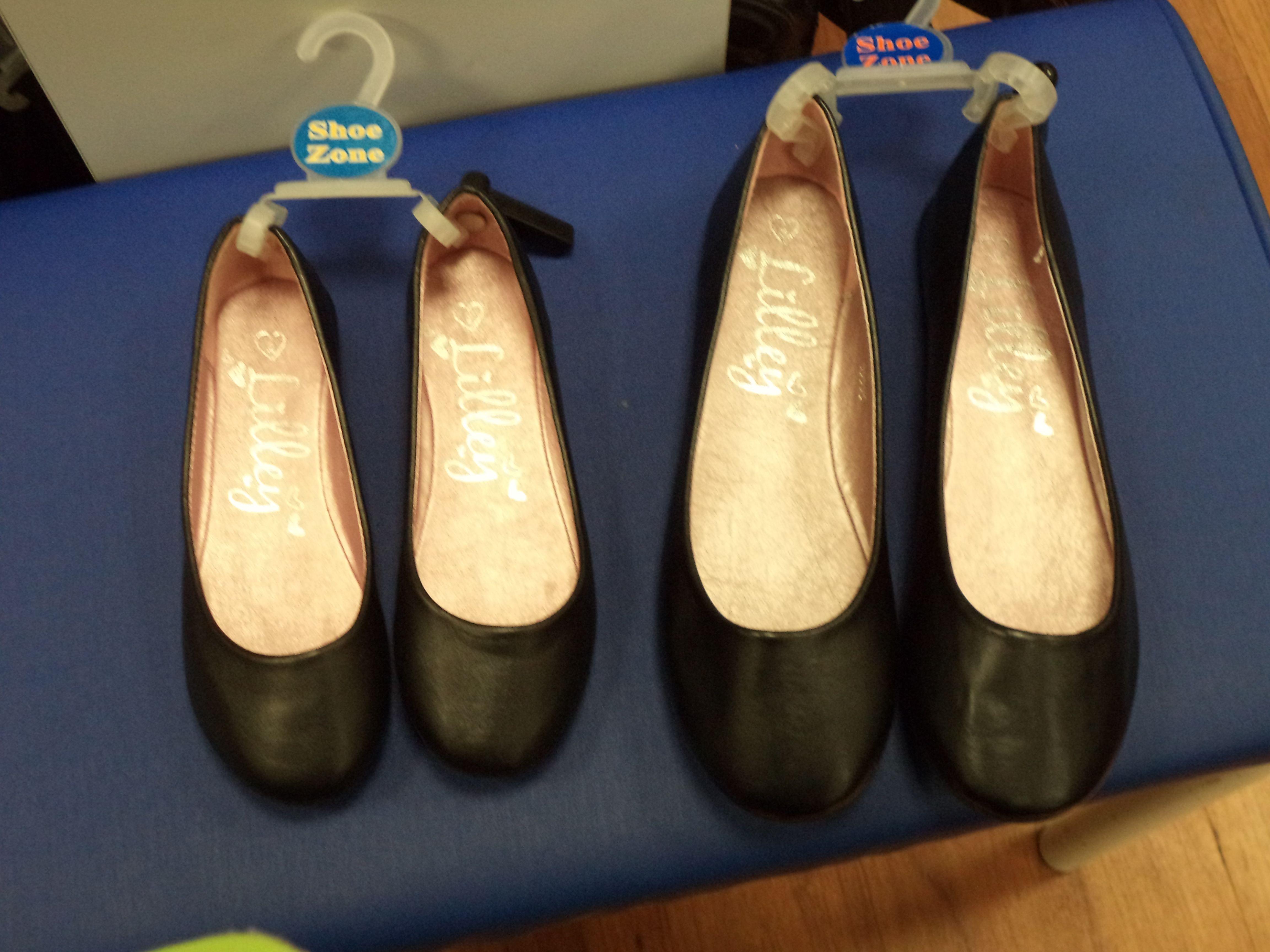Little & large shoes