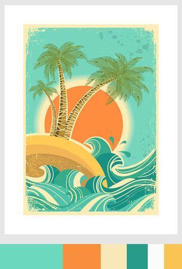 a382ea7127d62b Vintage Tropical Palette  Sand
