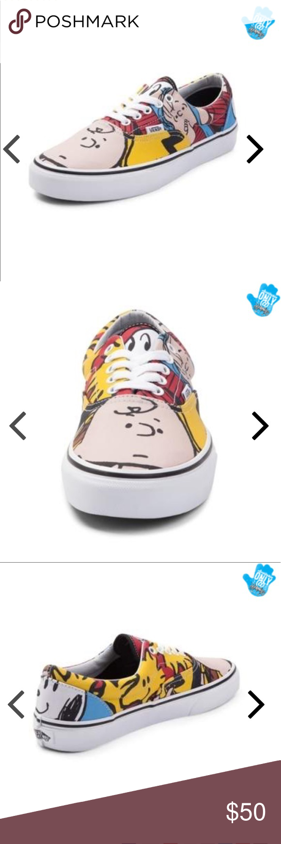 c29357443b Peanuts Gang Skate Shoe from Vans NEW W  BOX Team up with Charlie Brown and