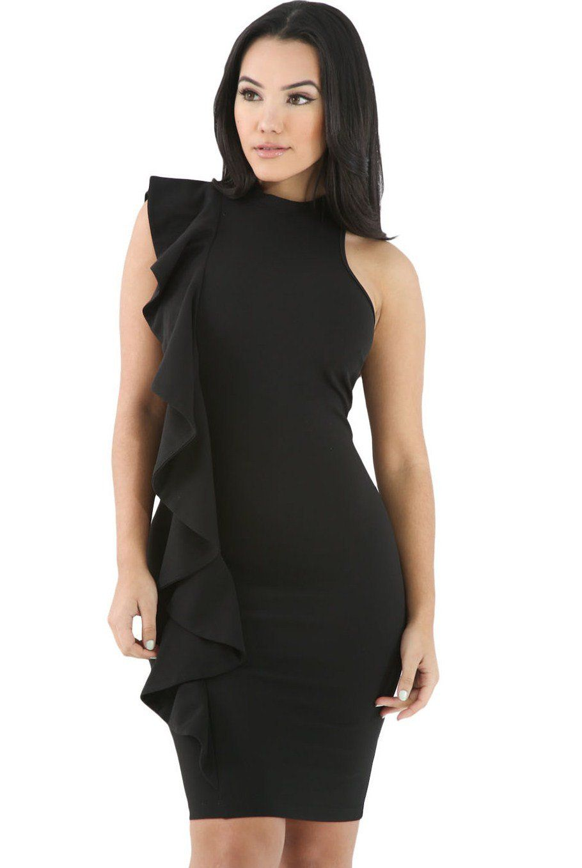 Achat robe noire courte