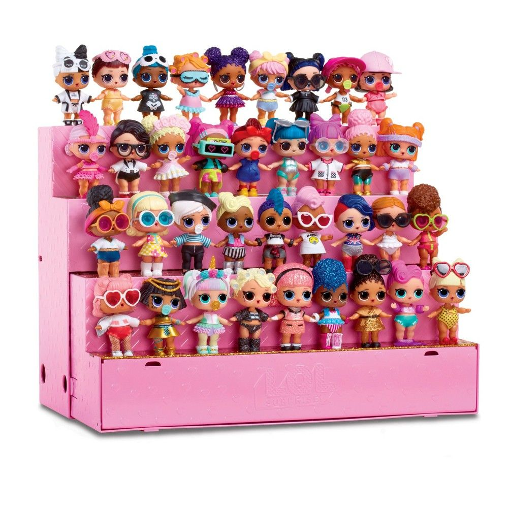 L O L Surprise Pop Up Store Doll Display Case Doll
