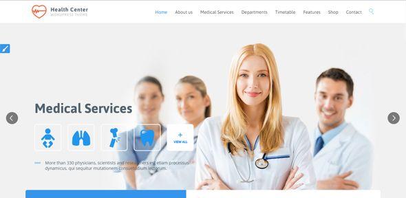 30 Professional Medical Website Templates Wordpress Themes