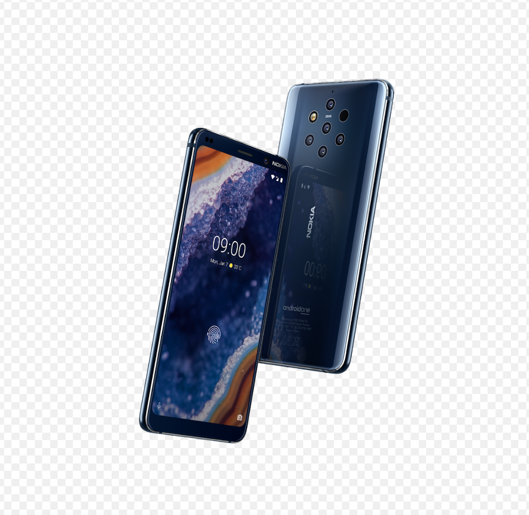 Nokia 9 PureView, the world's First Smartphone With Five