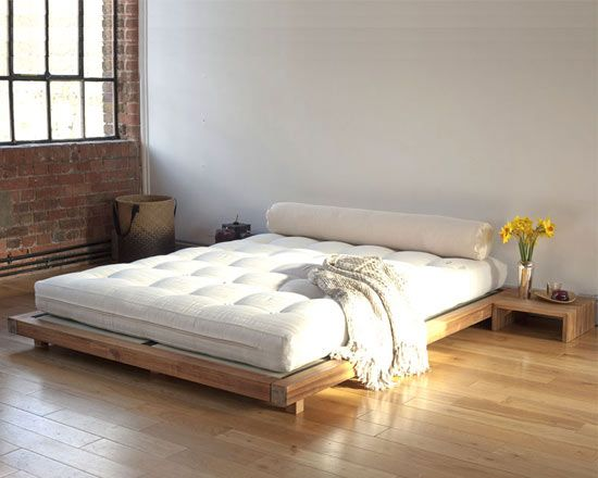 Platform King Size Bed, futon, tatami and platform. | dormitorios ...