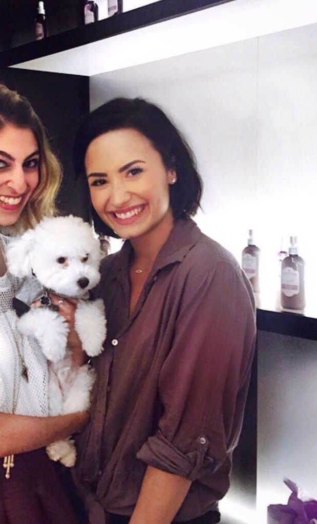 Demi at an evening for Devonne by Demi, May 13th