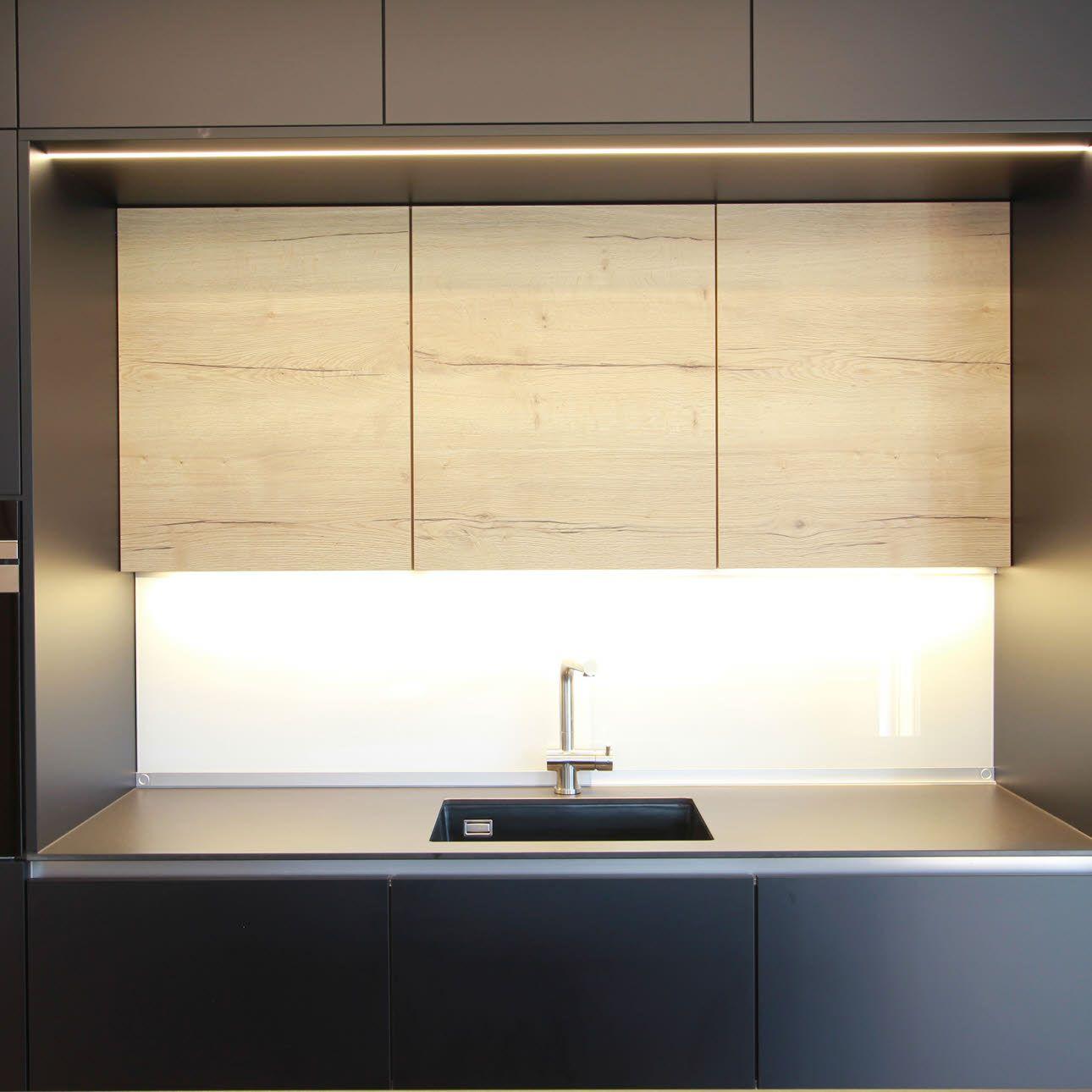 Elegante Wohnküche in Schwarz Ewe küchen, Küche und