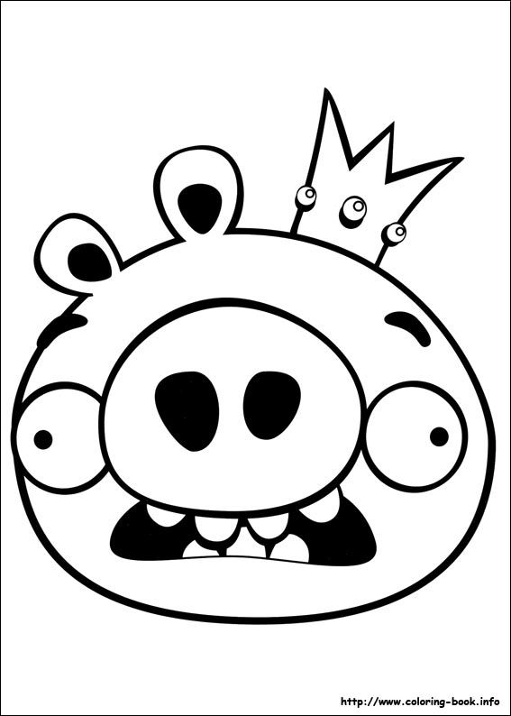 Angry Birds coloring picture | Coloring and Activities