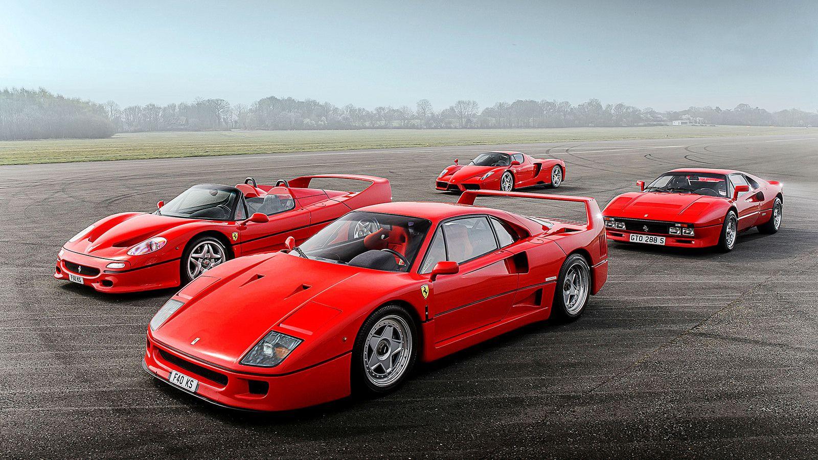 Ferrari 288 GTO / F40 / F50 / Enzo