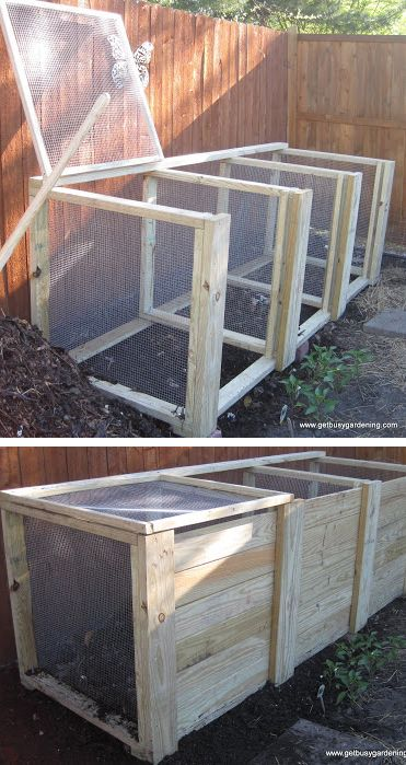 free large compost bin plans … | Garden | Pinte…