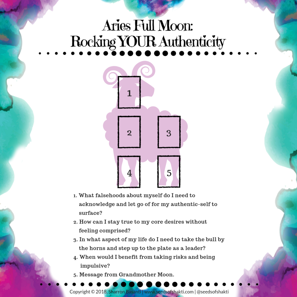Sacred Ritual For The Full Moon In Aries