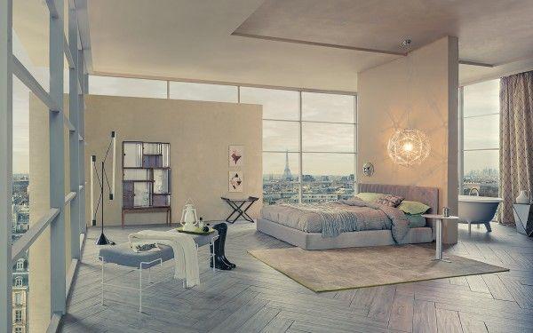 Moderne Schlafzimmer-Regelung Interieur Design Pinterest - moderne schlafzimmer designs
