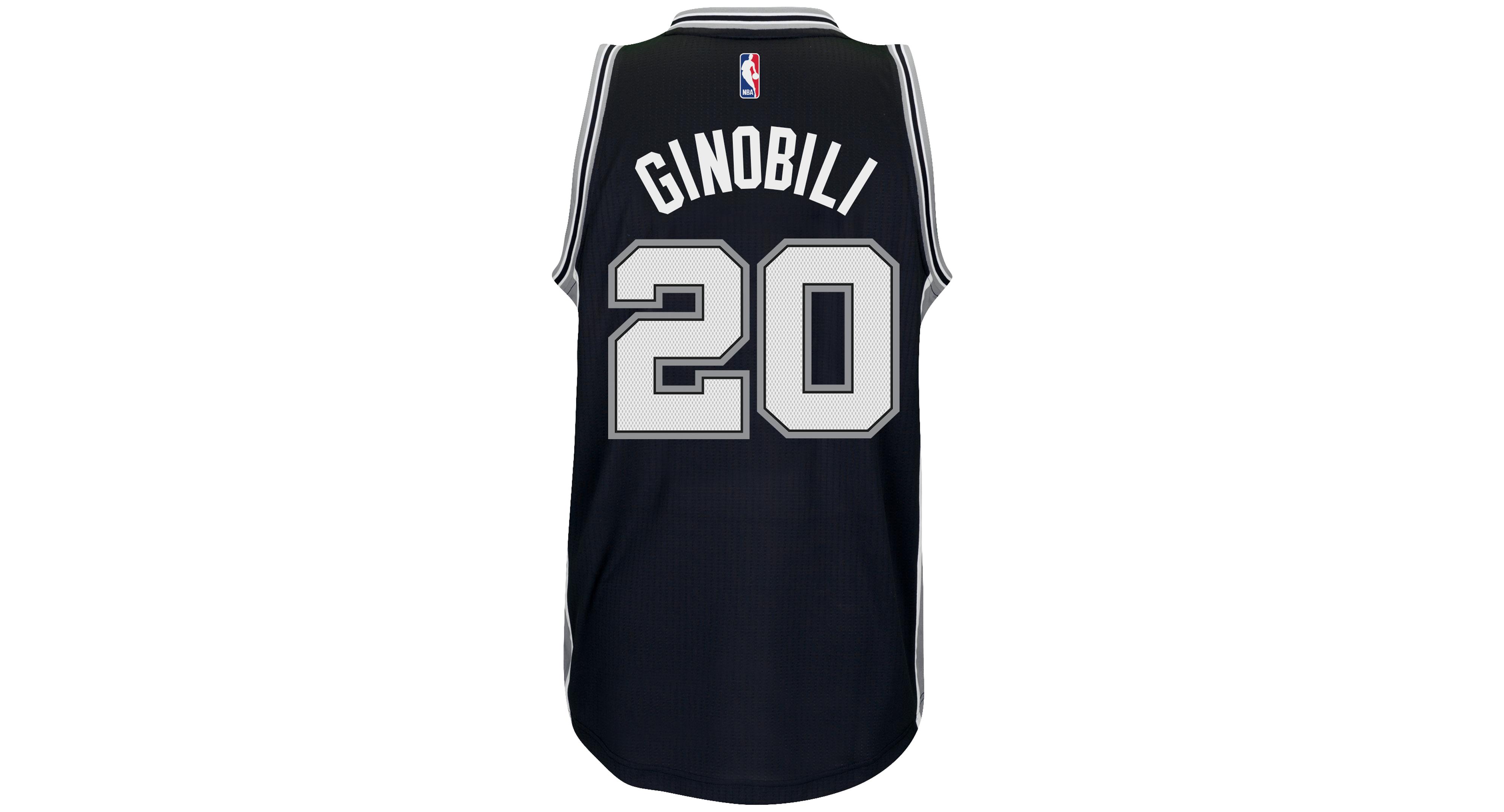 the latest 74971 4cc94 adidas Men's Manu Ginobili San Antonio Spurs Swingman Jersey ...