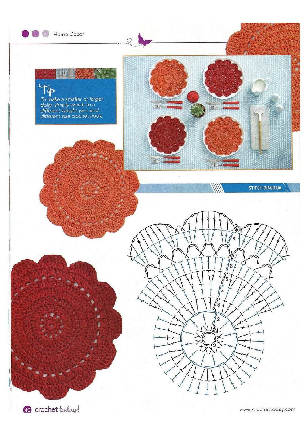 24 crochet today! march april 2010 di Dianne Guenther - issuu ...