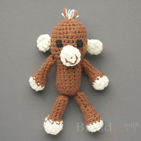Easy Crochet Monkey Amigurumi Diy Toys Crochet Knitted