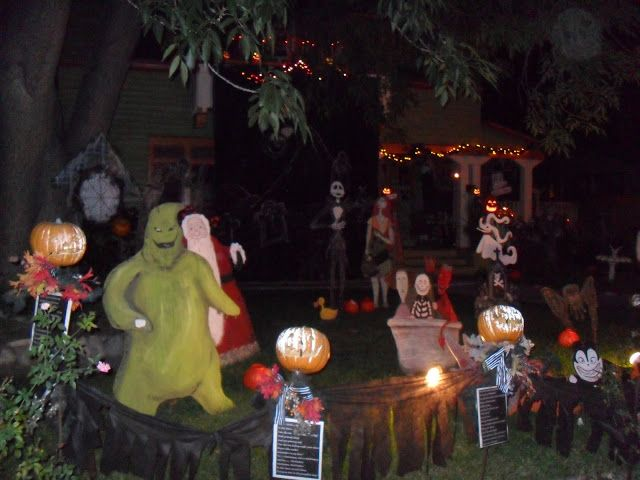 Nightmare before christmas  Halloween Yard Brianna\u0027s list