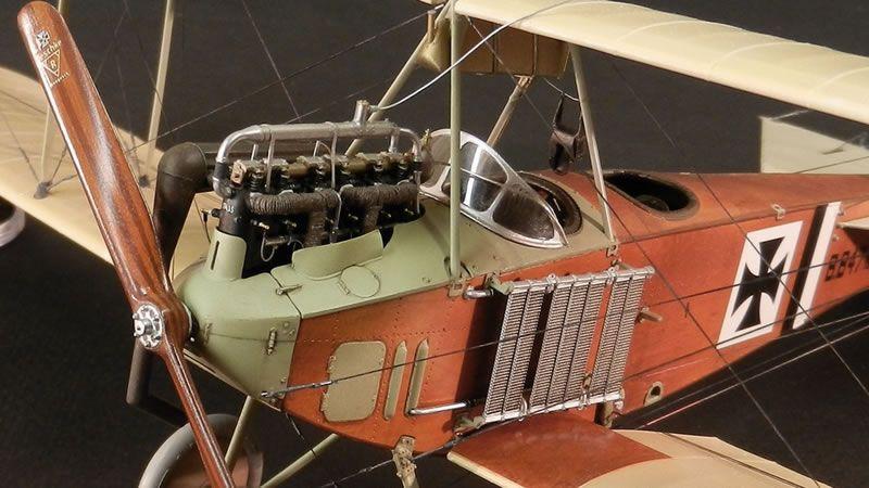Wingnut Wings 1/32 Albatros B II   Large Scale Planes