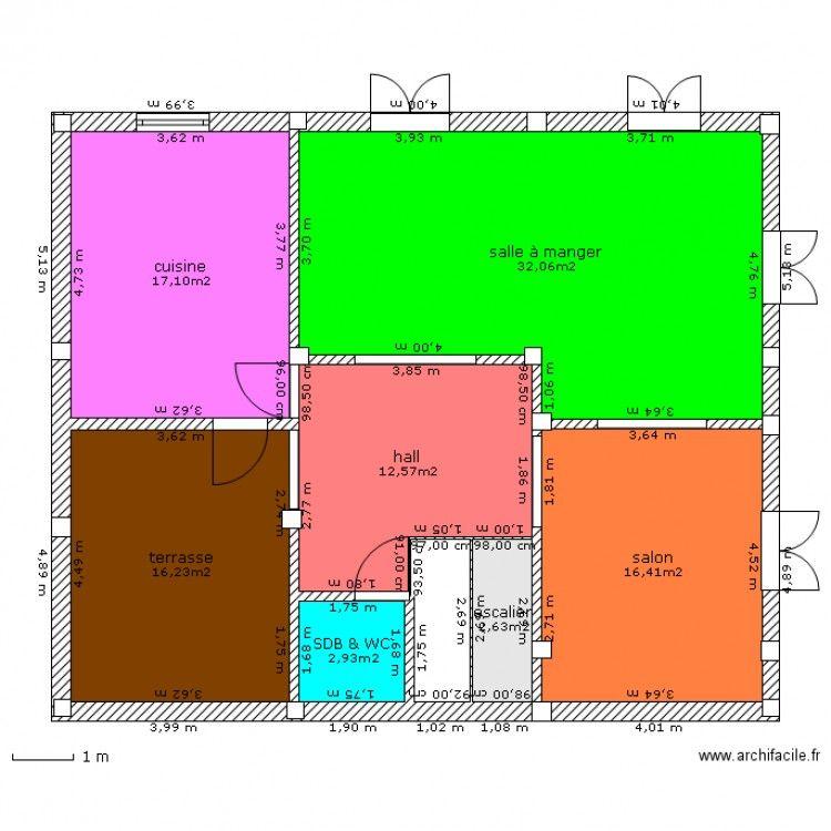 Plan Maison Algerie Gratuit Plan Maison 120m2
