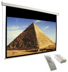 Screen 106 Electric Matte White Traditional Home Electronics Builderdepot Inc Electric Screen Projector Screen Electronic Security Systems