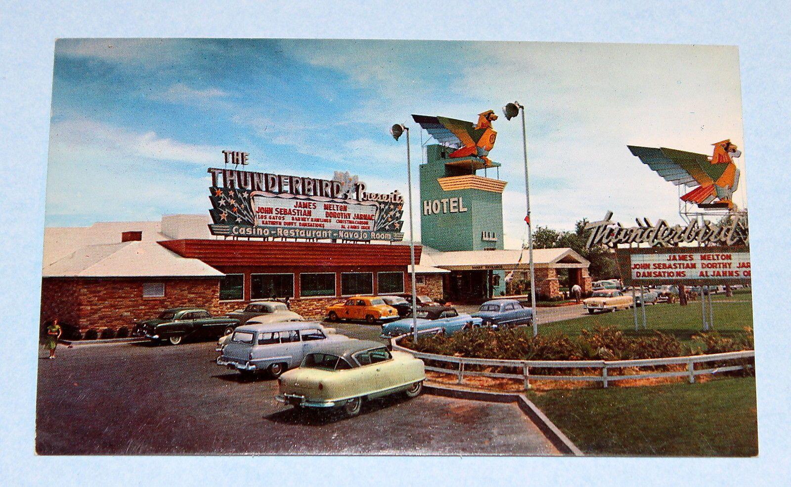Vintage postcards las vegas