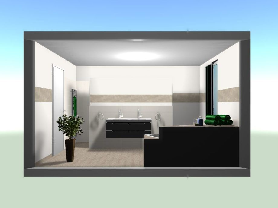 Fliesen Und Badezimmer Planung Im Neubau In 2020 Badezimmer Haus Planung Zimmer