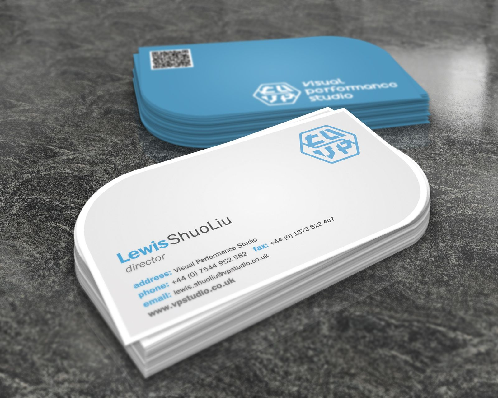 Nice Beautiful Business Card For Designers