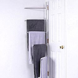 Take Advantage Of Unused Space In Your Bathroom With The Suffield Towel Rack This Clever Towel