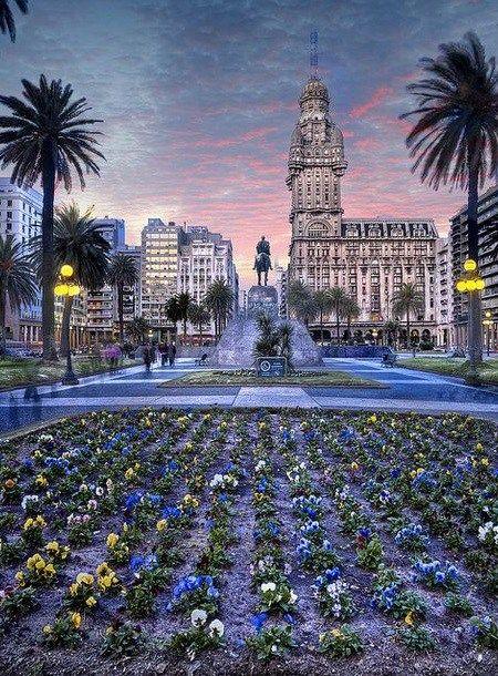 Uruguay Montevideo' da Yaşam