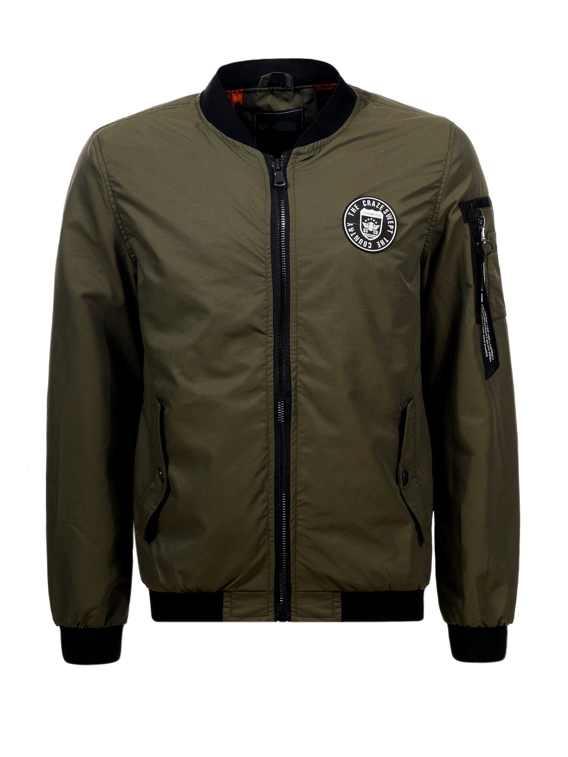 Meska Kurtka Bomberka Wiosenna Zielona Khaki L 7231033844 Oficjalne Archiwum Allegro Fashion Jackets Motorcycle Jacket