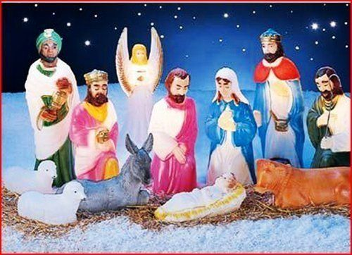 12pc Lighted Nativity Outdoor Decor This Is The Exact One I Had Growing Up Decorating With Christmas Lights Christmas Nativity Scene Outdoor Nativity Scene