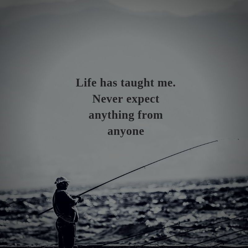 Life Has Taught Quote Dont Expect Quotes Expectation Quotes Thinking Quotes