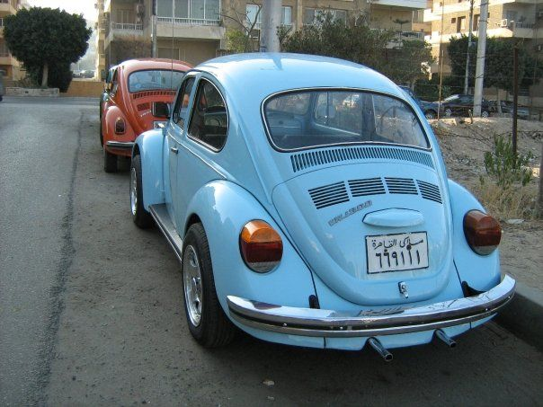 Back View Of A 1970 Beetle Love This